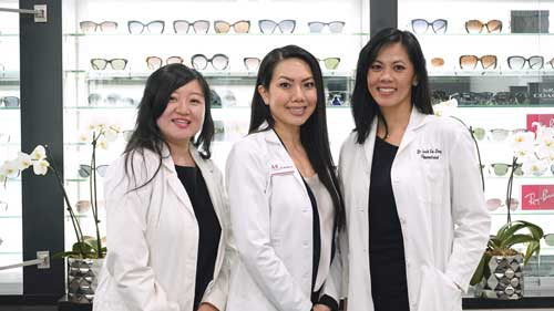 where can I find designer eyewear in houston