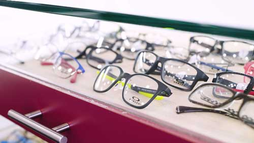 who sells designer eyewear in houston